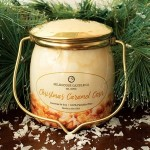 Świeca zapachowa Wrapped Butter Christmas Caramel Corn Milkhouse Candle