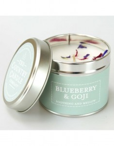 The Country Candle świeca Pastels Blueberry & Goji