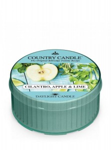 Świeca daylight Cilantro, Apple & Lime Country Candle