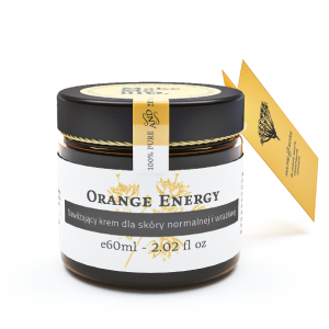Krem Orange Energy do cery normalnej i wrażliwej Make Me Bio 60ml