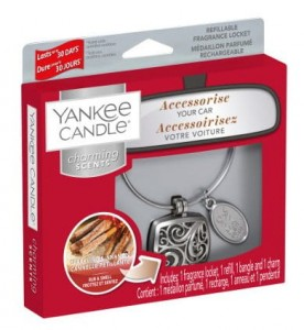 "Zapach do auta Charming Scents ""Square"" zestaw z Sparkling Cinnamon Yankee Candle"