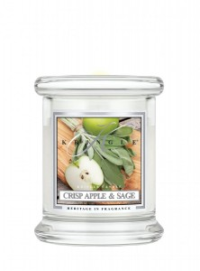 Kringle Candle mini świeca zapachowa Crisp Apple & Sage