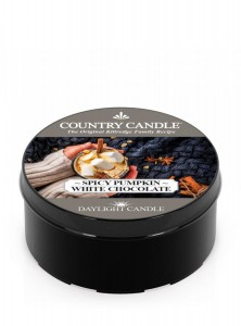 Świeca zapachowa daylight Spicy Pumpkin White Chocolate Country Candle