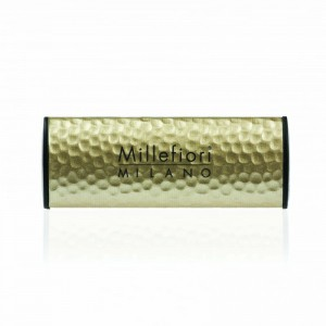 Millefiori Zapach do auta Icon METALLO Incense & Blond Woods