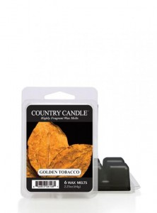Country Candle wosk zapachowy Golden Tobacco