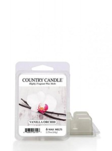 Country Candle Wosk zapachowy Vanilla Orchid