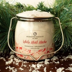 Świeca zapachowa Wrapped Butter White Mint Mocha Milkhouse Candle