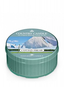 Świeca daylight Cotton Fresh Country Candle