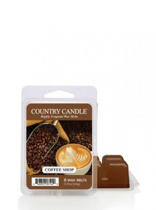 Country Candle Wosk zapachowy Coffee Shop