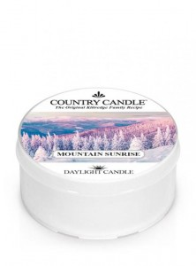Świeca daylight Mountain Sunrise Country Candle