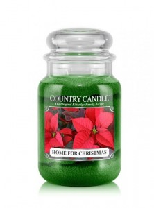 Duża świeca zapachowa Home For Christmas Country Candle