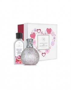 Ashleigh&Burwood Zestaw Lampa mała Frosted Rose + Romance 250 ml