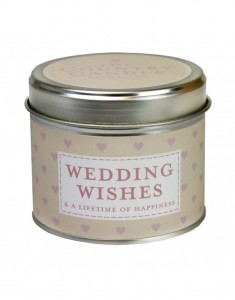 The Country Candle świeca sentiments Wedding Wishes