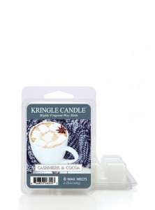 Kringle Candle wosk zapachowy Cashmere & Cocoa
