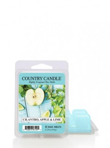 Country Candle Wosk zapachowy Cilantro, Apple & Lime