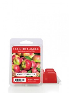 Country Candle Wosk zapachowy Macintosh Apple