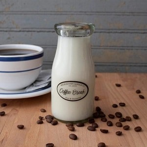 Świeca zapachowa Milk Bottle Coffee Break Milkhouse Candle