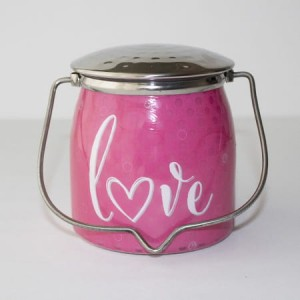 Świeca zapachowa Wrapped Butter Love Sentiments Milkhouse Candle
