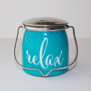 Świeca zapachowa Wrapped Butter Relax Sentiments Milkhouse Candle