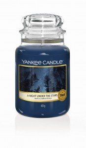 Yankee Candle duża świeca zapachowa A Night Under The Stars