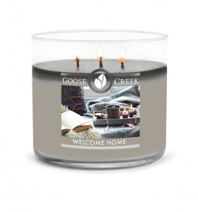 Świeca Tumbler średni WELCOME HOME Goose Creek Candle