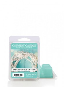 Country Candle Wosk zapachowy Baby It's Cold Outside