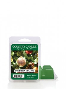 Country Candle Wosk zapachowy Bohemian Holiday