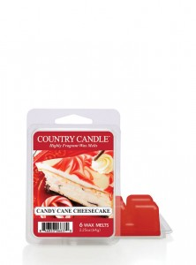 Country Candle Wosk zapachowy Candy Cane Cheesecake
