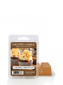 Country Candle Wosk zapachowy Caramel Chocolate