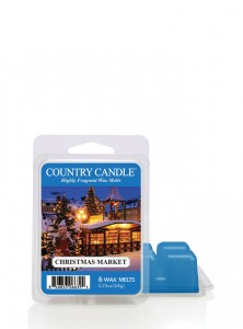 Country Candle Wosk zapachowy Christmas Market