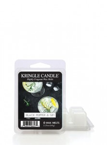 Kringle Candle wosk zapachowy Black Pepper Gin