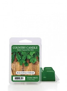 Country Candle Wosk zapachowy Balsam & Cedar