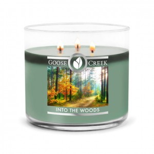 Świeca Tumbler średni INTO THE WOODS Goose Creek Candle