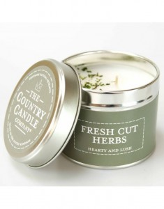 The Country Candle świeca Pastels Frest Cut Herbs