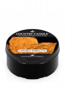 Świeca zapachowa daylight Golden Tobacco Country Candle
