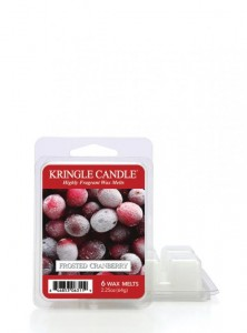 Kringle Candle wosk zapachowy  Frosted Cranberry