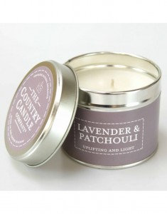 The Country Candle świeca Pastels Lavender & Patchouli