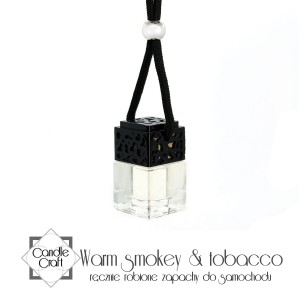 Candle Craft zapach do samochodu WARM SMOKEY TABACCO