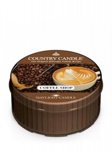 Świeca daylight Coffee Shop Country Candle