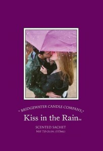 Saszetka zapachowa Kiss in the Rain Bridgewater Candle