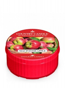 Świeca zapachowa daylight Macintosh Apple Country Candle