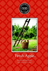 Saszetka zapachowa Fresh Apple Bridgewater Candle
