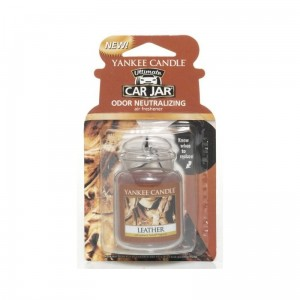 Yankee Candle Car Jar Ultimate Leather