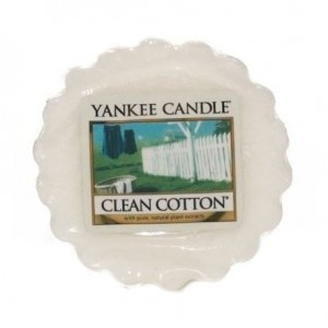 Yankee Candle wosk zapachowy Clean Cotton